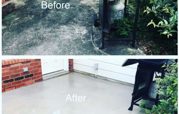 Concrete Cleaning – December 2020