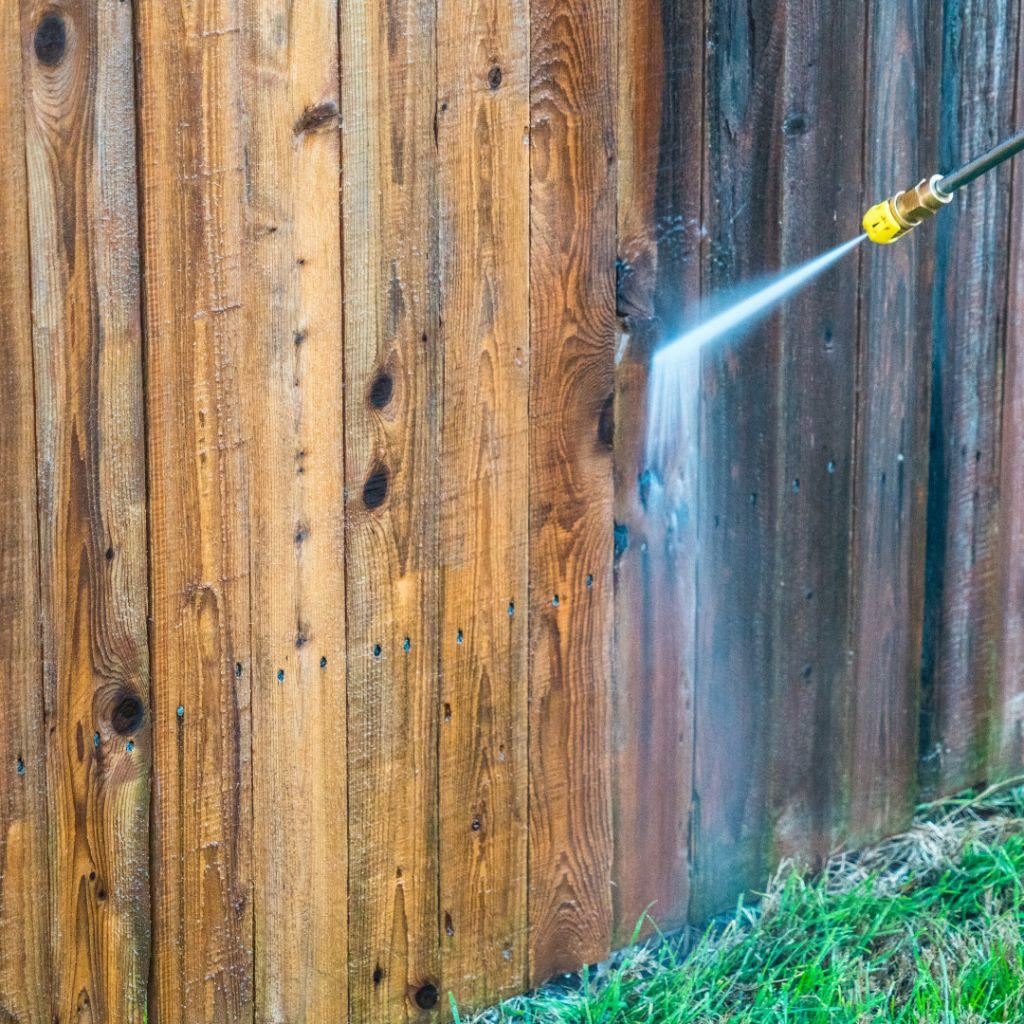 power washing fence wilmington nc