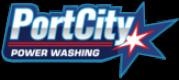port city power washing logo